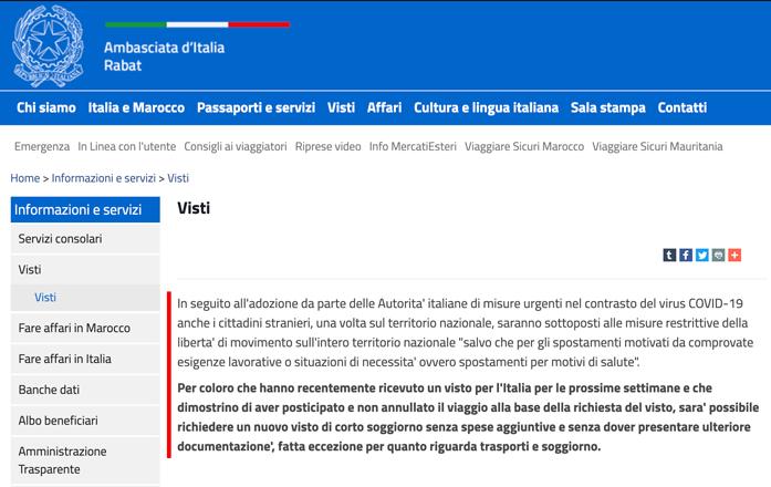 polizze-per-stranieri-covid19-news-dellambasciata-ditalia-a-rabat-marocco