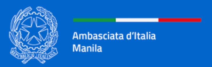 COVID-19: sospeso il servizio visti all'Ambasciata d'Italia a Manila (Filippine)
